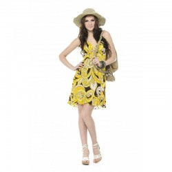 Printed Chiffon Dress(Fashion Manufacturer)